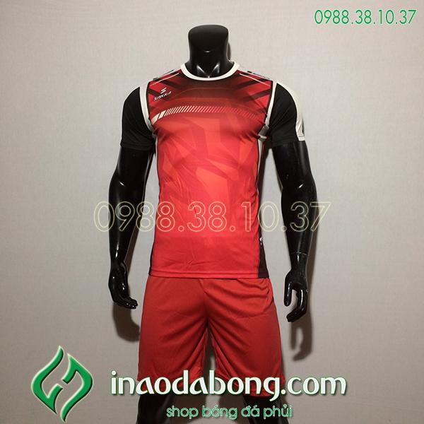 Áo Bóng Đá Ko Logo Saka HKC Màu Đỏ