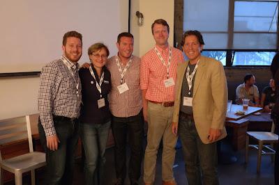 Adam Avramescu, Alessandra Marinetti, Joshua Zerkel, Mark Halvorson, Bill Cushard