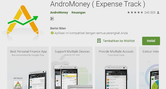 aplikasi yang membantu untuk memantau pengeluaran uang harian