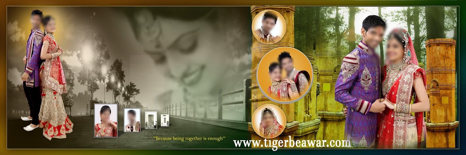 Indian 2020 Karizma Album Design 12x36 Psd Templates Free