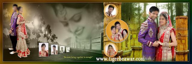 Indian 2020 Karizma Album Design 12x36 Psd