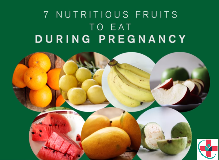 Here are 7 nutritious fruits to eat during pregnancy.