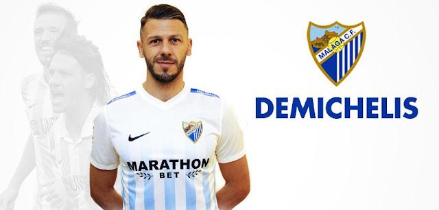 Málaga contrata novamente Martin Demichelis