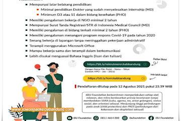 Lowongan Kerja Karyawan Yayasan Indonesia Bhadra Utama (IBU)