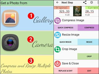 image resizer app for android