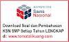 Soal & Pembahasan KSN / OSN Matematika SMP 2020 PDF (KSN-K KSN-P KSN Nasional)