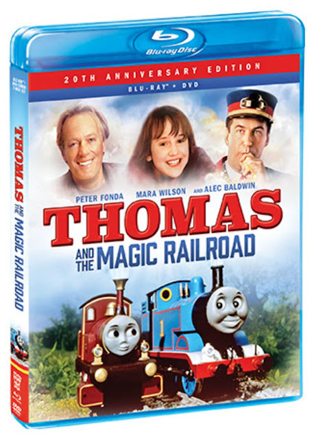 Thomas and the Magic Railroad 20th Anniversary Edition Blu-Ray/DVD Giveaway