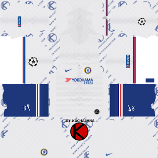 Chelsea FC 2019/2020 Kit - Dream League Soccer Kits