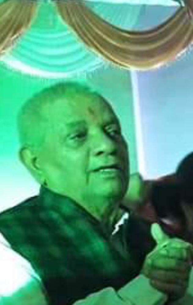 नहीं रहे MLC रविशंकर सिंह के पिता गिरिजा शंकर सिंह, चहुंओर शोक