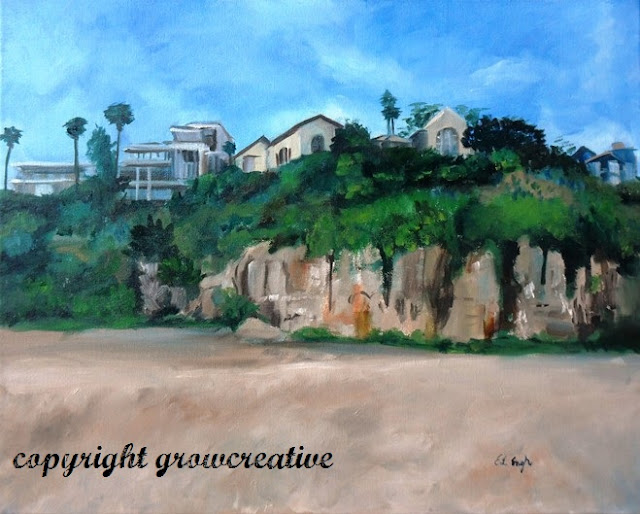 Laguna Beach Oil Painting