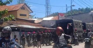 Breaking News: 1 Mahasiswa Ditembak, 13 Mahasiswa Lainnya Ditahan Polisi Indonesia Buntut Penolakan UU Otsus Julid II, 2021
