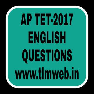 English AP TET 2017