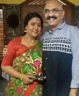 Sihi Kahi Chandru with Geetha
