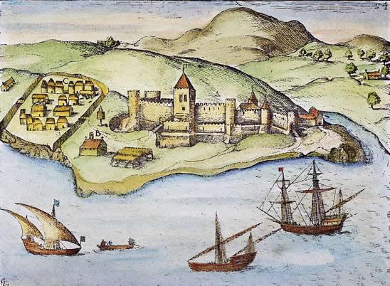 Portuguese port in Africa