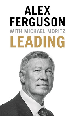 Leading by Sir Alex Ferguson and Michael Moritz book cover