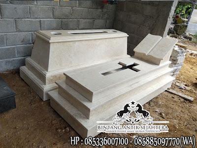Jual Kijing Makam Marmer, Harga Kuburan Marmer, Makam Dari Marmer