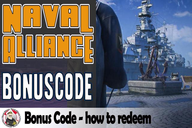 Naval Alliance Bonus code how to redeem