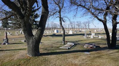Midale, Saskatchewan, cemetery, historical