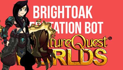 Fastest Brightoak Rep Bot AQW [Packet Spam]