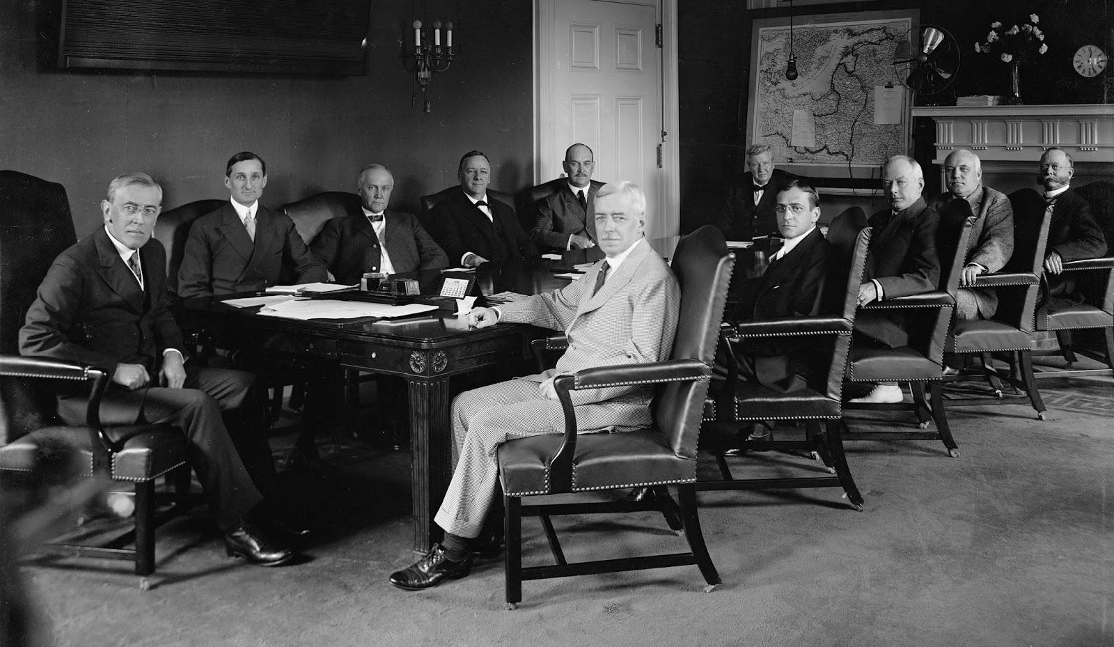Woodrow Wilson Cabinet Government Creativeadvertisingblog Com