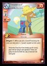 My Little Pony Trenderhoof, Trying Too Hard Equestrian Odysseys CCG Card