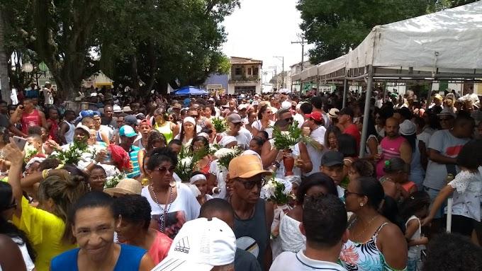 Lavagem de São Gonçalo dos Campos 2020 bate recorde de participantes