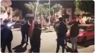 (بالفيديو) ليلة رعب في حمام سوسة الان :اعتداء بالعنف و ضرب على المواطنين و تكسير و خلع المنازل....