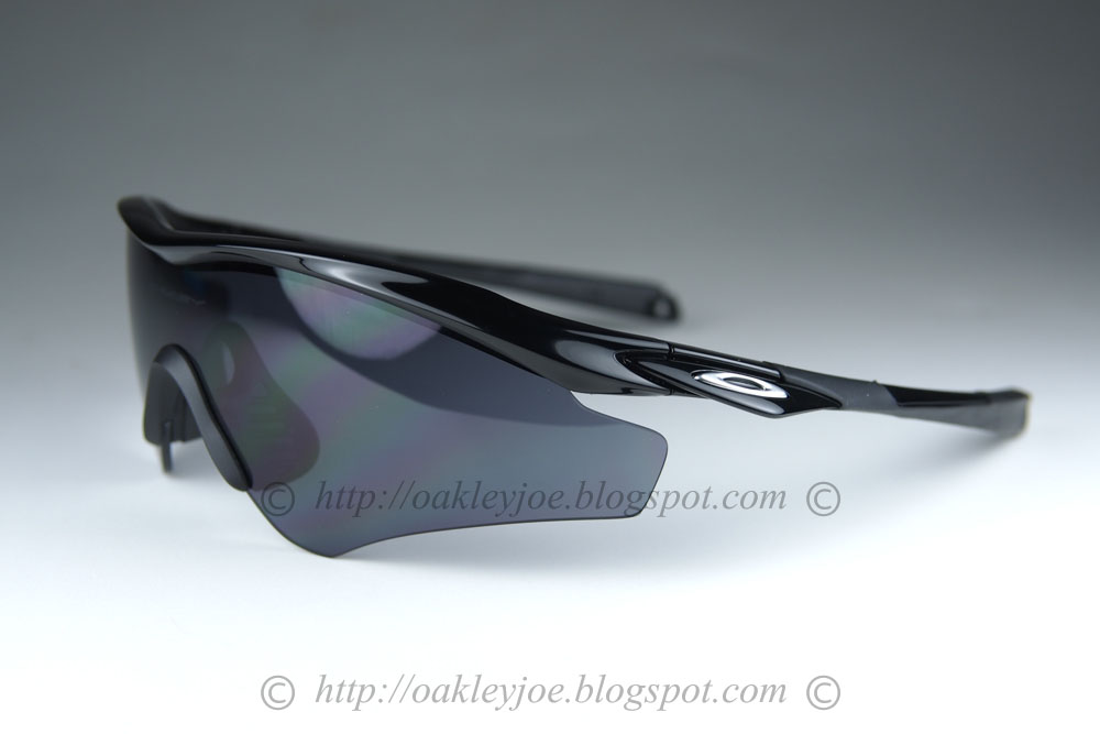 b95094447d oo9345-01 M2 Frame Asian Fit polished black + grey  210 lens pre coated  with Oakley hydrophobic nano solution complete set comes with box and  microfiber ...