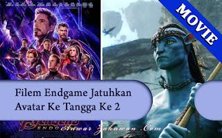 Avatar Bukan Lagi Filem No1 Terlaris - Avengers: Endgame No1 | MOVIES