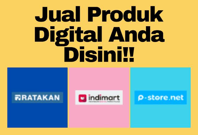 Jual Produk Digital Anda Disini!!