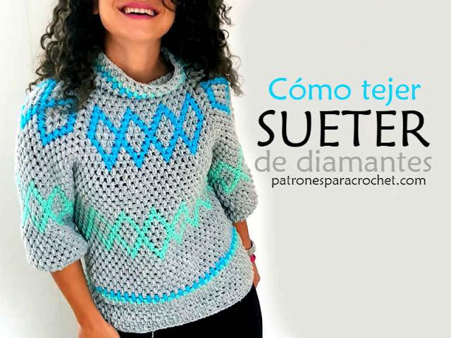 suéter-crochet-punto-puff-para-mujer-patron-gratis