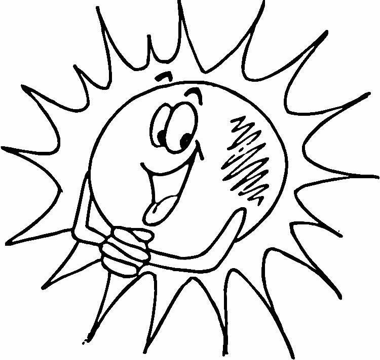 Imagem de sol para colorir desenhos de ver o para pintar for Sole disegno da colorare