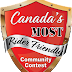 Canada's MOST Rider Friendly Community Contest - Supporting our Community!