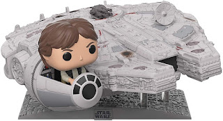 The Funko Pop Millennium Falcon with Han Solo top toys for 2019 christmas