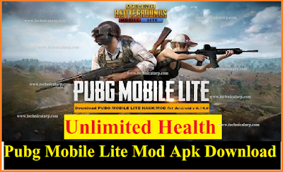 Pubg Mobile Lite Mod Apk Download Unlimited health [Updated]