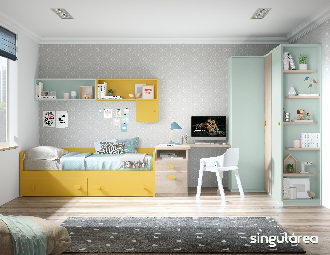 Blog dormitorios juveniles com novedades camas nido para - El mueble habitaciones juveniles ...