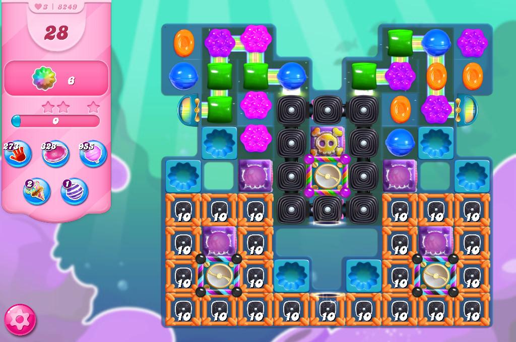 Candy Crush Saga level 8249