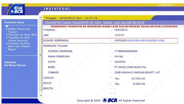 contoh nomor referensi bank bca