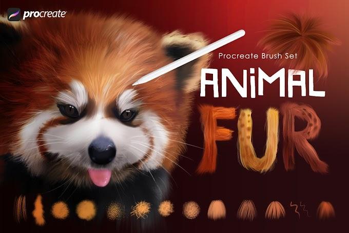 Animal Fur Procreate Brushes[Photoshop][ABR][5476074]