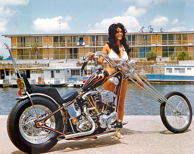 Motoblogn Vintage Chopper Chicks Motorcycle Pin Up Girls