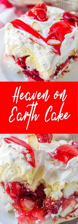 Recipe Heaven on Earth Cake #cake #recipe