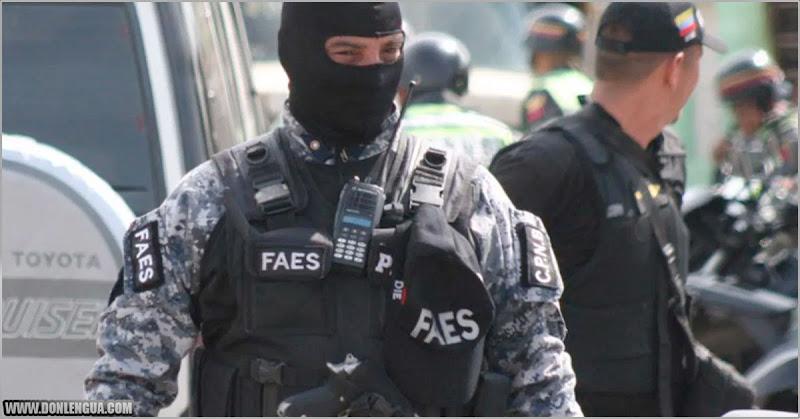 El FAES es responsable por la mayor cantidad de homicidios en Caracas