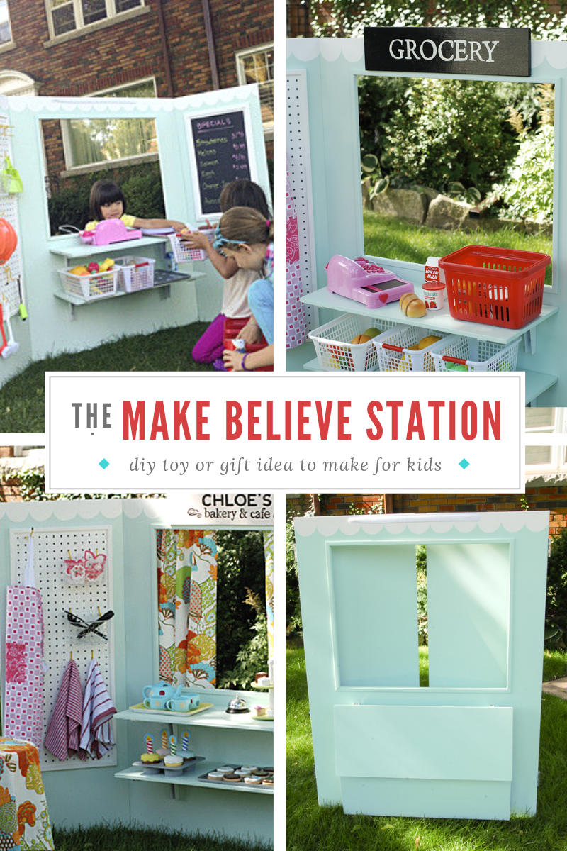 diy toy, christmas gift for kids, plywood lemonade stand