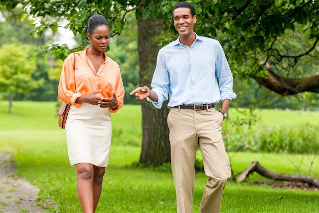 """Cena do filme """"Michelle e Obama"""""""
