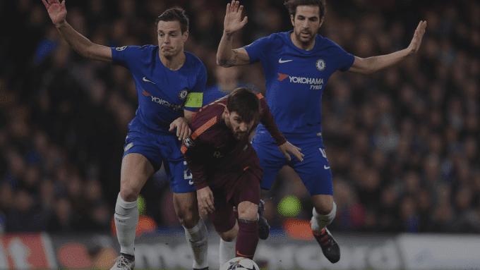 Idnfotbal - Lumbung Goal Lionel Messi ke Gawang Chelsea