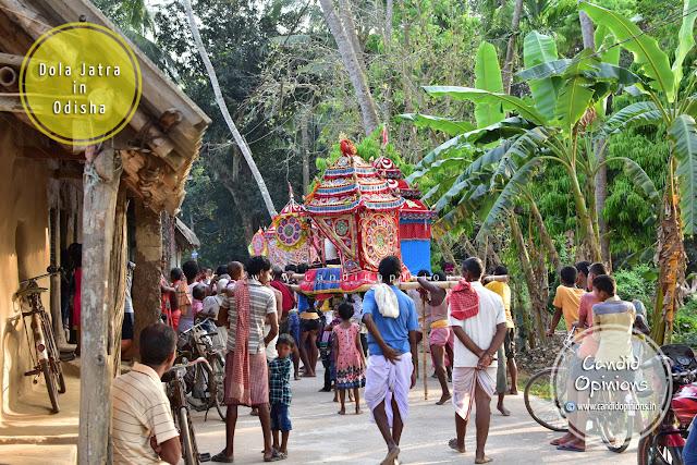 Dola Jatra (Dola Utsav) in my village Biswalpada