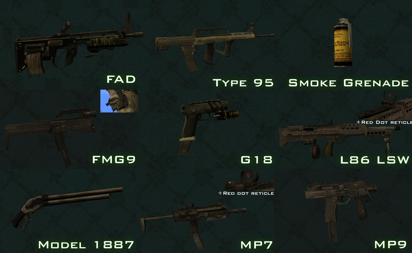 Midway Mods: [REL] Modern Warfare 3 Weapons Pack