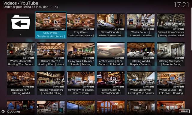 Videos estancias acogedoras 4K