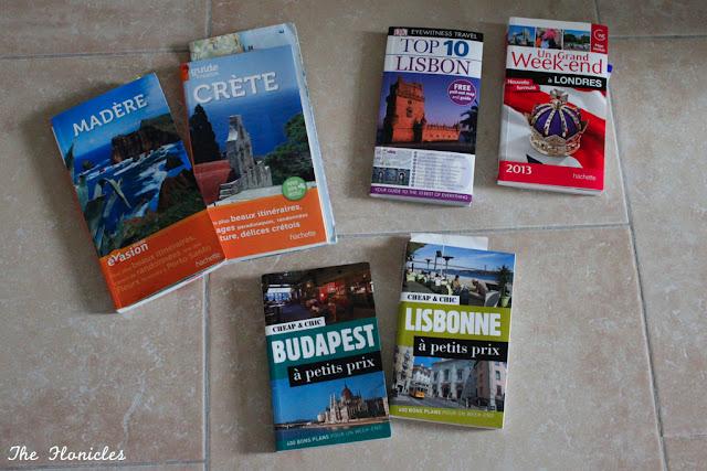 Guides de voyage : mes préférés (et les autres)
