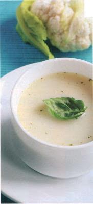 Reţetă culinară: Supă-cremă de conopidă